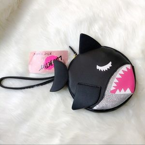 Luv Betsey By Betsey Johnson Shark Coin Purse NWT